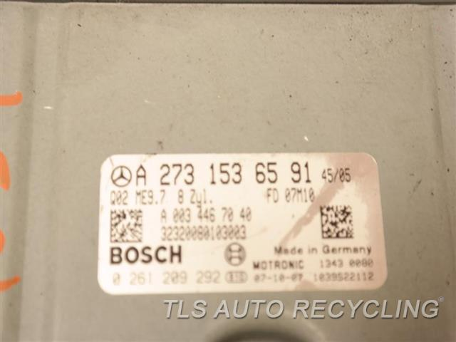 2008 Mercedes S550 Eng/motor Cont Mod  2731536591 ENGINE CONTROL ECU UNIT