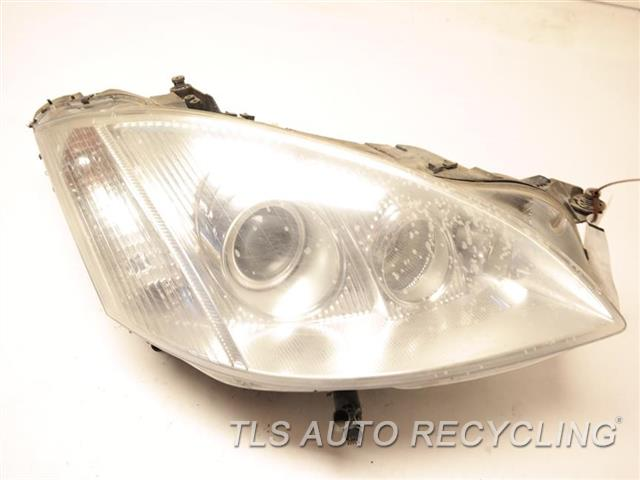2008 Mercedes S550 Headlamp Assembly GLASS HAS HEAT STRESS CRACKS, DIRTY INSIDE RH,BI-XENON, HID HEADLAMP NIQ