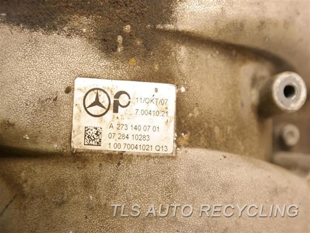 2008 Mercedes S550 Intake Manifold  221 TYPE, S550