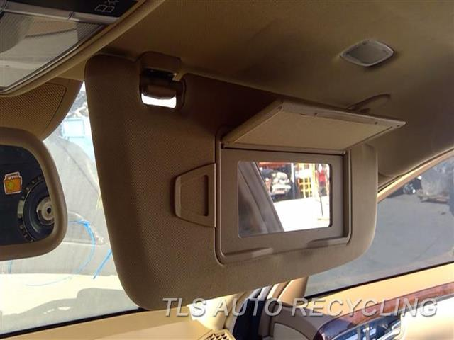 2008 Mercedes S550 Sun Visor/shade  RH,BRWN,221 TYPE, S550, R.