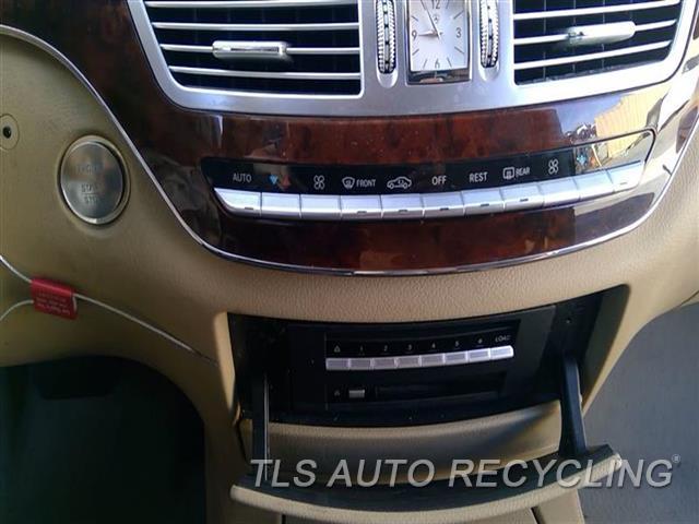 2008 Mercedes S550 Temp Control Unit  BRWN,RWD,221 TYPE, FRONT, S550, SWI