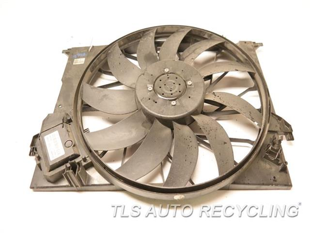 2013 Mercedes S550 Rad Cond Fan Assy 2115002293 221 TYPE, FAN ASSEMBLY, S550