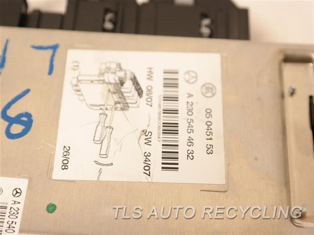 2009 Mercedes Sl550 Chassis Cont Mod  2305454632 COMMUNICATION MODULE
