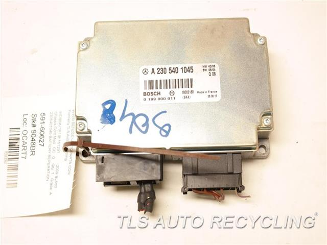 2009 Mercedes Sl550 Chassis Cont Mod CONTROL MODULE 2305401045 BATTERY SEPERATION