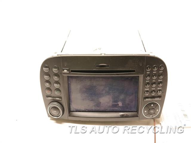 2009 Mercedes Sl550 Radio Audio / Amp  230 TYPE, SL550, CD CHANGER