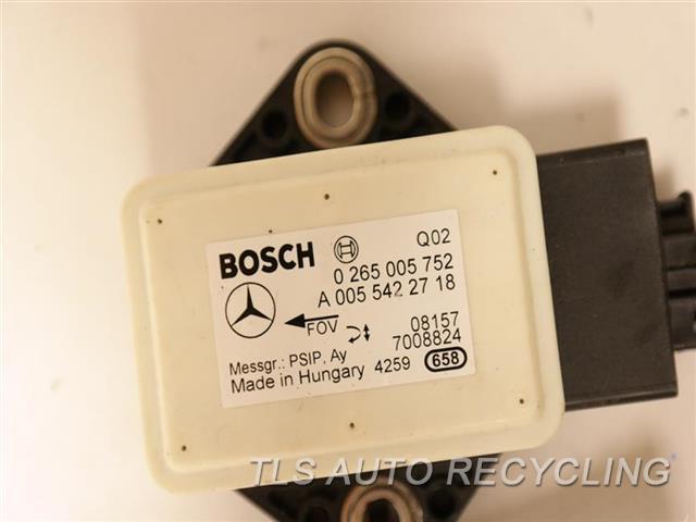 2009 Mercedes Sl550   0055422718 YAW RATE SENSOR