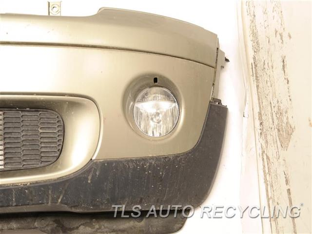 2009 Mini Cooper Clubman Bumper Cover Front SCRATCH IN PAINT PEELING , BOTTOM TEXTURE DEEP SCUFF 2S2,GLD,BASE, AERODYNAMIC PACKAGE