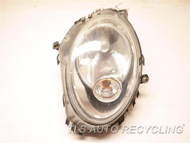 2009 Mini Cooper Clubman Headlamp Assembly WHITE TURN INDICATOR LH,HALOGEN HEADLAMP