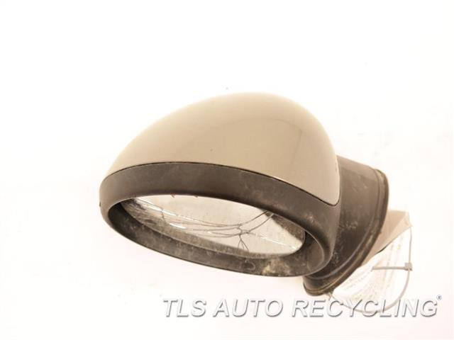 2009 Mini Cooper Clubman Side View Mirror MIRROR GLASS CRACKED LH,GLD,POWER, POWER FOLDING, MIRROR