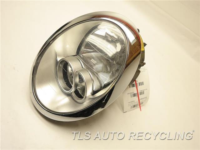 2006 Mini Cooper Minicoope Headlamp Assembly MISSING THE BACK CAP DRIVER HALOGEN HEADLAMP 63127198733