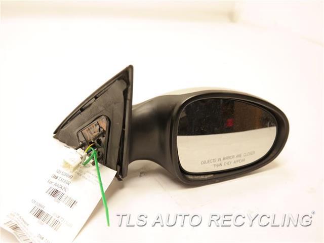 2006 Nissan Altima Side View Mirror 96301ZB080       SCUFF ON PLASTIC COVER SILVER PASSENGER SIDE VIEW MIRROR