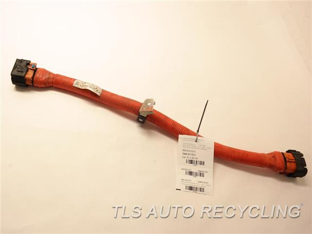 2011 nissan leaf body wire harness 297a6-3na1e main battery harness
