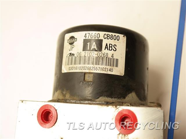 2007 Nissan Murano Abs Pump  ANTI LOCK BRAKE ABS PUMP 47660CB666