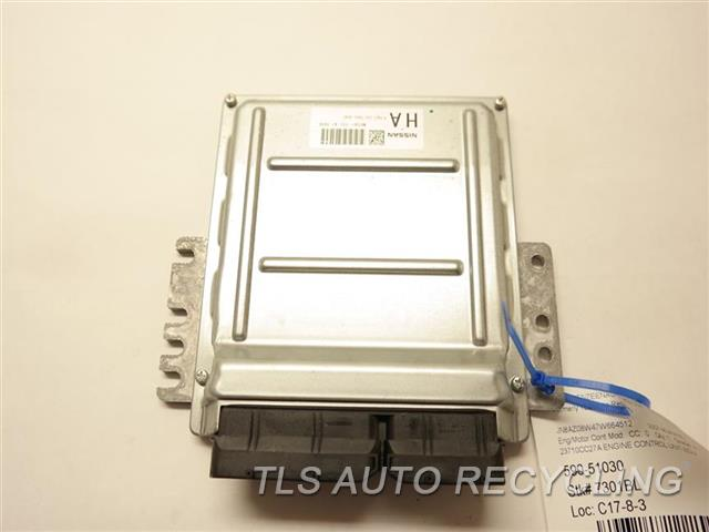 2007 Nissan Murano Eng/motor Cont Mod  23710CC27A ENGINE CONTROL UNIT ECU