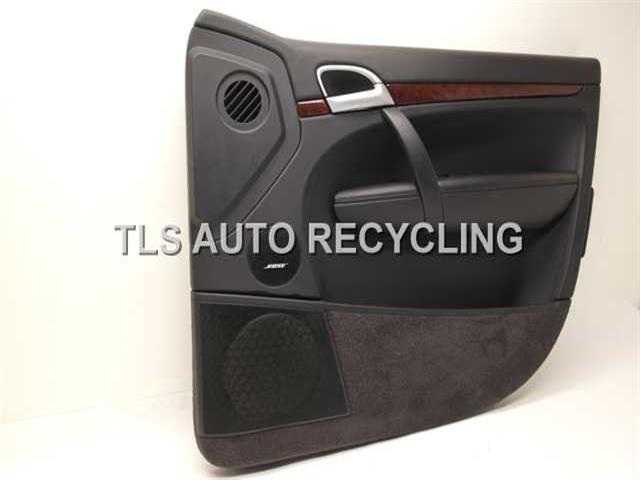 2006 Porsche Cayenne Trim Panel Fr Dr 95555511203pbsblk Passenger Front Door Trim Panel