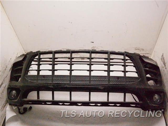 2016 Porsche Macan Bumper Cover Front W/ FOG LAMP, W/ DAYTIME LAMPS, DEEP SCUFFS ON THE LOWER SECTION, SCRATCHES ON THE DRIVER SIDE, ONE DAMAGE TAB INSIDE, W/O LOWER SPOILER 1S2,BLK,BUMPER, S MODEL,SPORT DESIGN