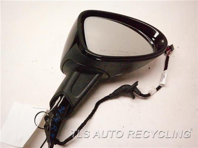 2016 Porsche Macan Side View Mirror MINOR SCRATCHES RH,BLK,PM,POWER, W/O BLIND SPOT