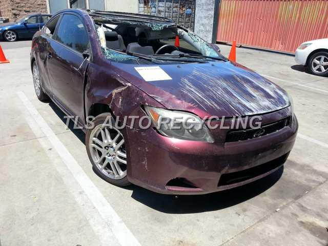 2007 scion tc burgandy black roll over all over used for 2007 scion tc motor oil