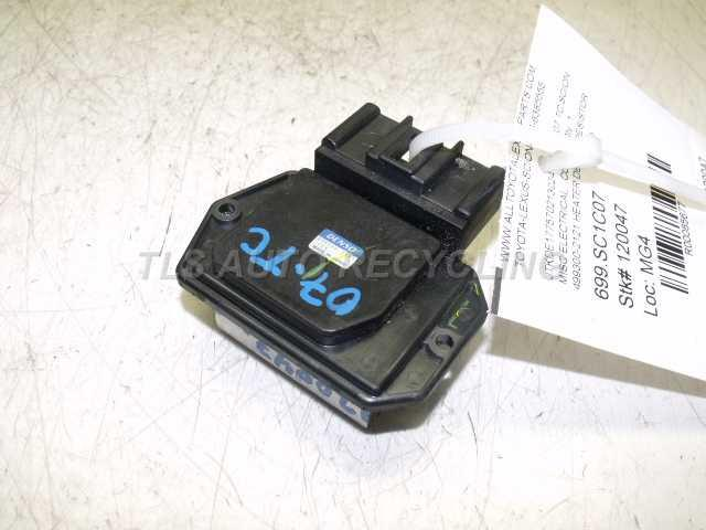 2007 scion tc misc electrical 499300 2121 used a grade for 2007 scion tc motor oil