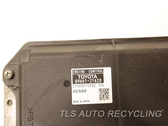 2013 Scion Tc Eng/motor Cont Mod  89661-21620 ENGINE CONTROL UNIT