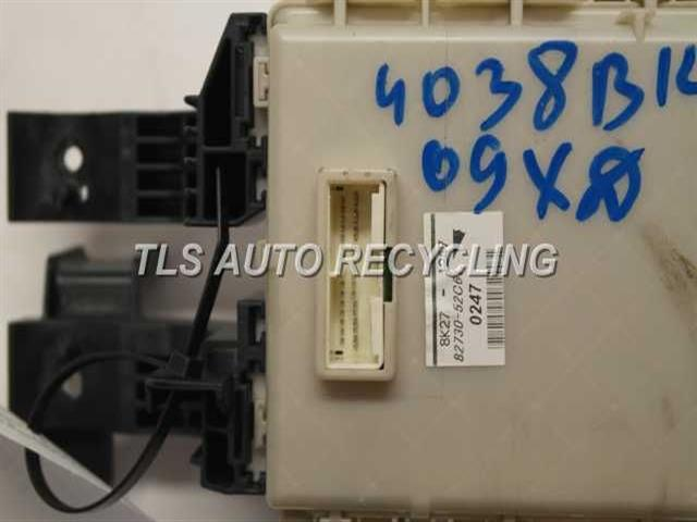 2009 scion xd - 82730-52c61 - used - a grade. 2014 scion fuse box 2009 scion fuse box