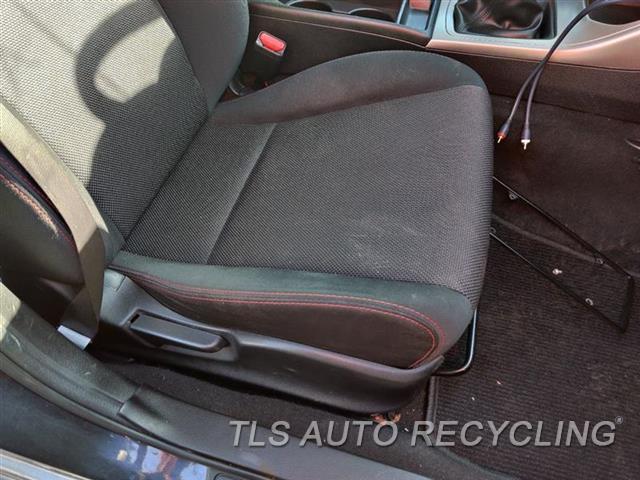 2010 Subaru Impreza Seat, Front  RH,BLK,CLO,(BUCKET), (AIR BAG), CLO
