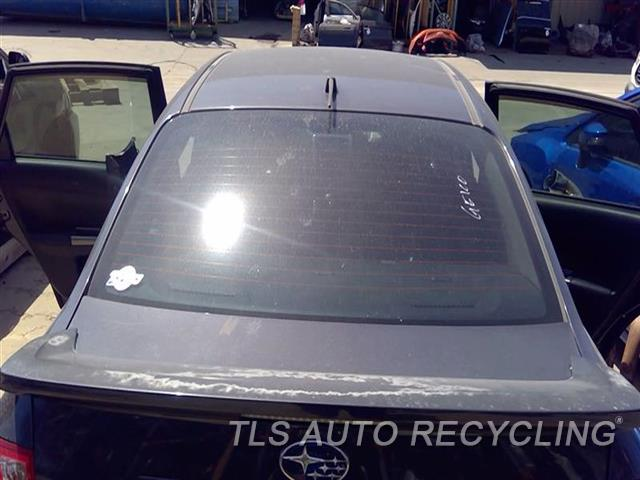 2012 Subaru Impreza Back Glass  2.5L (TURBO), SDN