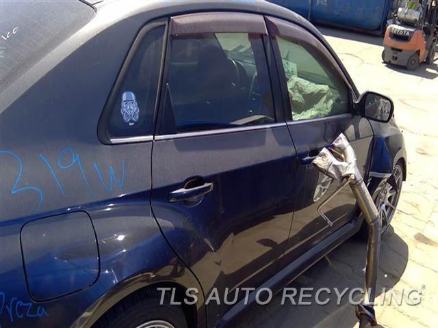 2012 Subaru Impreza Center Pillar Cut  RH,GRY,2.5L (TURBO), SDN, R.