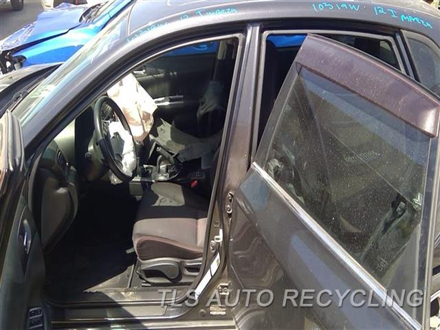 2012 Subaru Impreza Center Pillar Cut  LH,GRY,2.5L (TURBO), SDN, L.