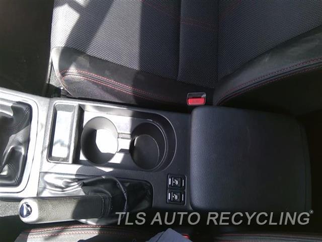 2012 Subaru Impreza Console Front And Rear  BLK,(FLOOR), 2.5L (TURBO), WRX, MT