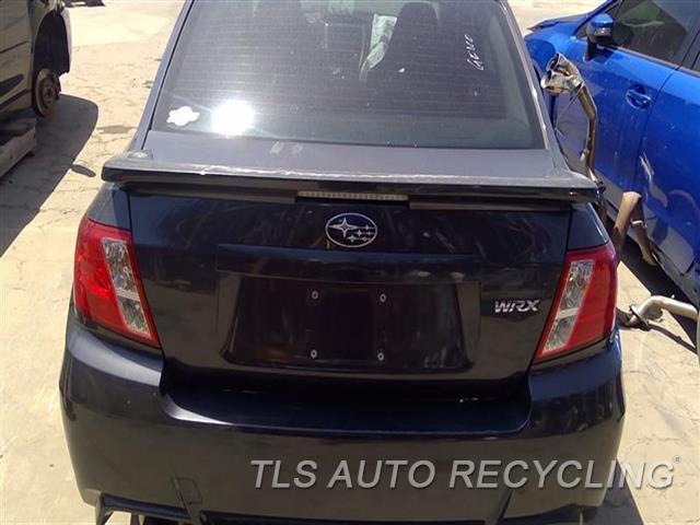 2012 Subaru Impreza Deck Lid SPOILER PAINT PEELING 000,GRY(TURBO), SDN, SPOILER, WRX