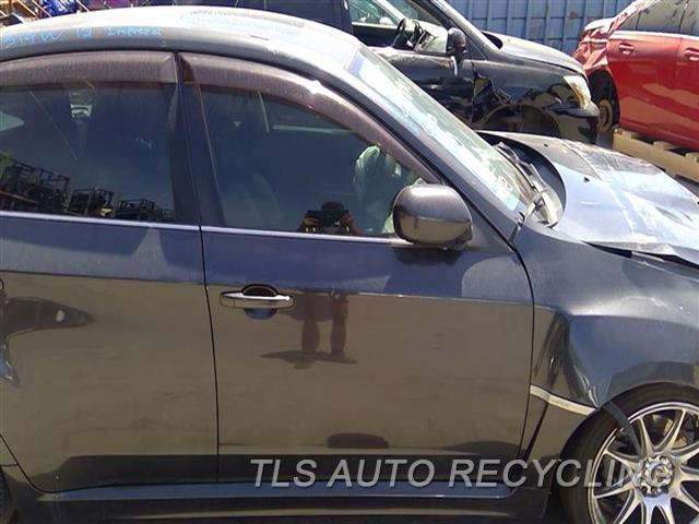 2012 Subaru Impreza Door Assembly, Front DENT ON BODY LINE 5D1,RH,GRY,(ELECTRIC), 2.5L (TURBO)