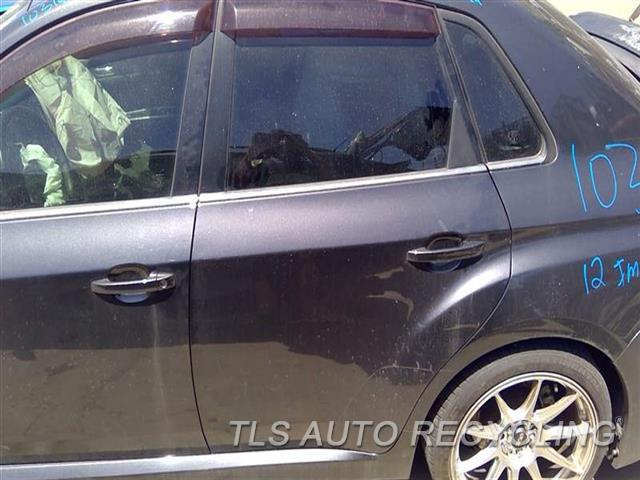 2012 Subaru Impreza Door Assembly, Rear Side  000,LH,GRY,(ELECTRIC), 2.5L (TURBO)