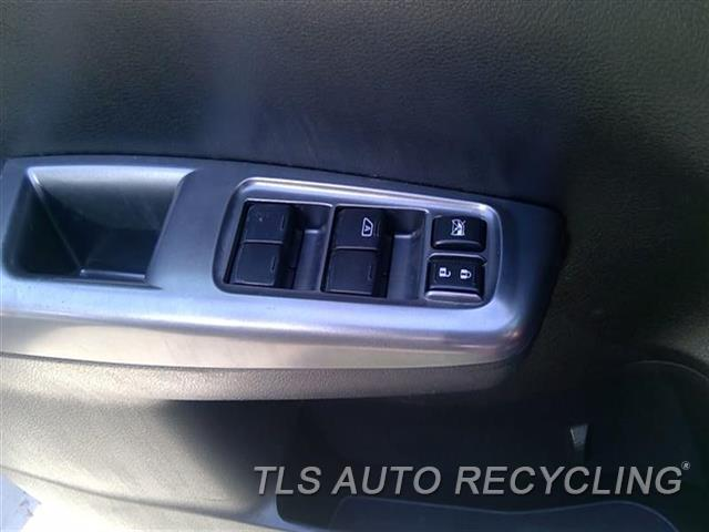 2012 Subaru Impreza Door Elec Switch  LH,DRIVER``S, LOCK AND WINDOW (MAST
