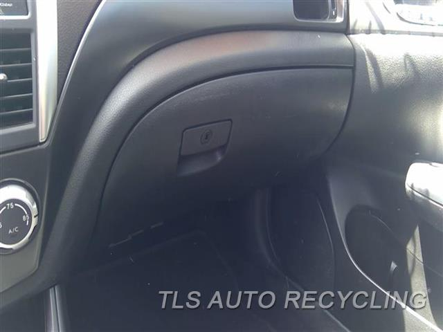 2012 Subaru Impreza Glove Box  BLK