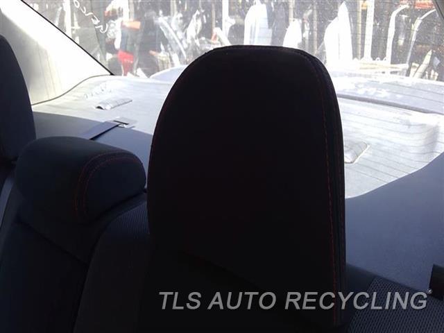 2012 Subaru Impreza Headrest  BLK,CLOTH,REAR,OUTER