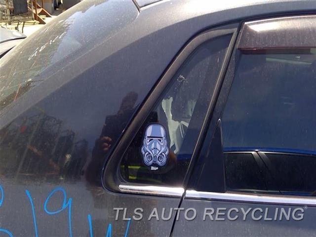 2012 Subaru Impreza Quarter Glass  RH,2.5L (TURBO), SDN, R.