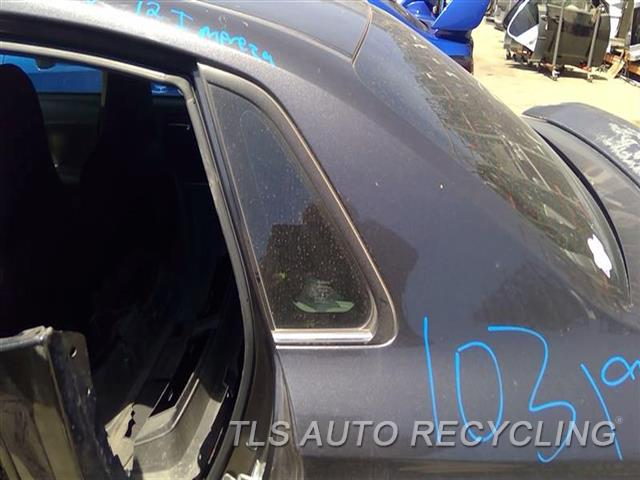2012 Subaru Impreza Quarter Glass  LH,2.5L (TURBO), SDN, L.