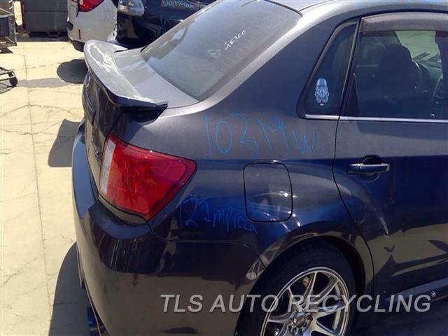 2012 Subaru Impreza Quarter Panel Assy  000,RH,GRY,2.5L (TURBO), SDN, R.