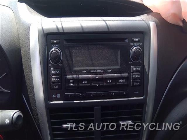 2012 Subaru Impreza Radio Audio / Amp  RECEIVER, 2.5L (TURBO), W/O NAVIGAT