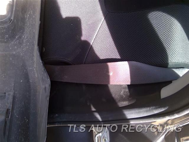 2012 Subaru Impreza Seat Belt Rear  BLK,LH,REAR,OUTER