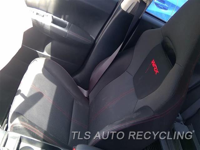 2012 Subaru Impreza Seat, Front  RH,BLK,CLO,(BUCKET), (AIR BAG), WRX