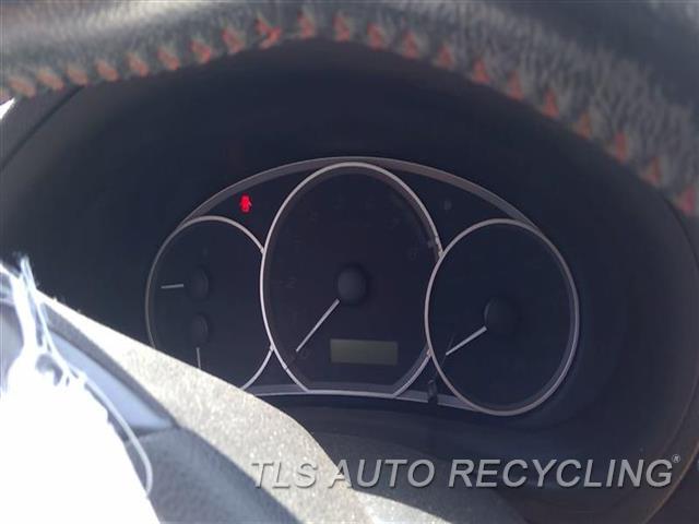 2012 Subaru Impreza Speedo Head/cluster  (CLUSTER), 2.5L (TURBO), MPH, WRX