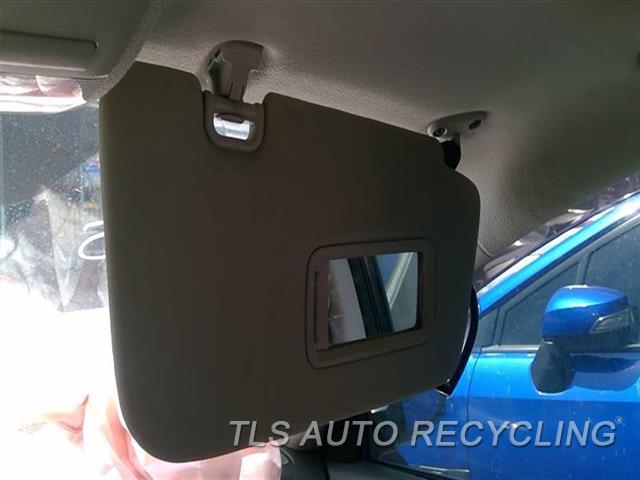 2012 Subaru Impreza Sun Visor/shade  RH,TAN,2.5L, (WITHOUT ILLUMINATION)