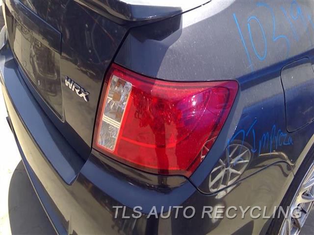 2012 Subaru Impreza Tail Lamp  RH,2.5L (TURBO), SDN, R.