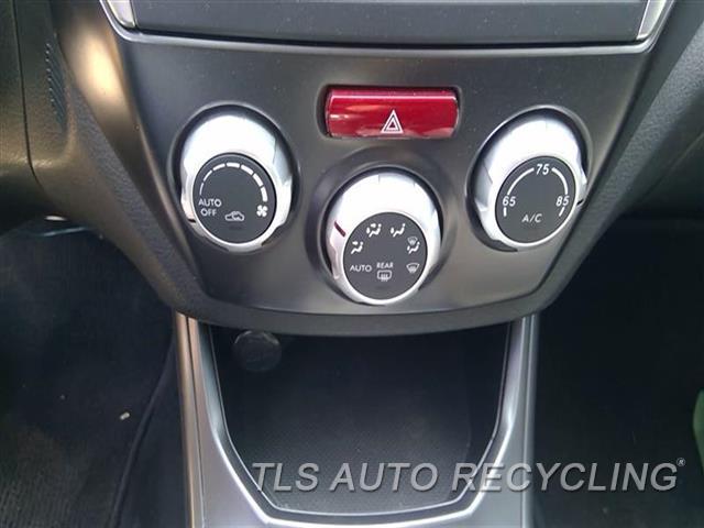 2012 Subaru Impreza Temp Control Unit  2.5L (TURBO), MANUAL TEMPERATURE