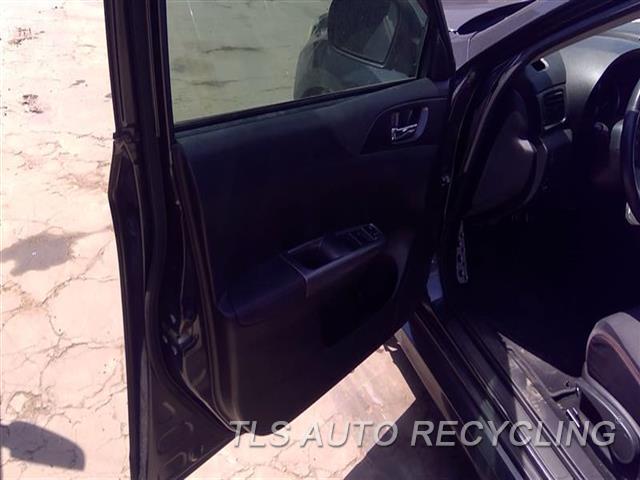 2012 Subaru Impreza Trim Panel, Fr Dr  LH,BLK,LEA,SDN,WRX