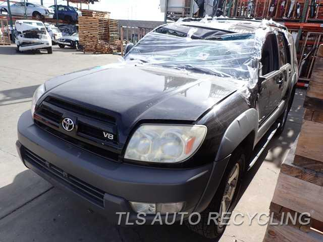 2003 Toyota 4 Runner Parts Stock# 6169BL