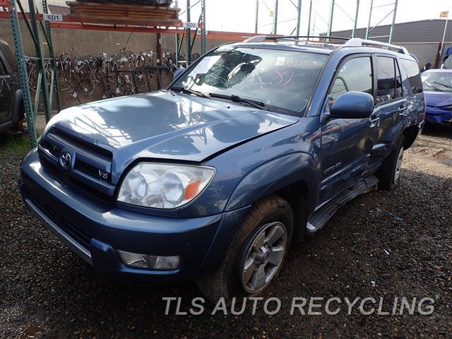 2003 Toyota 4 Runner Parts Stock# 7037RD