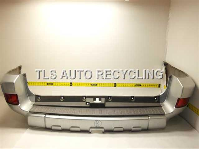 2004 Toyota 4 Runner Bumper Cover Rear Scratches And